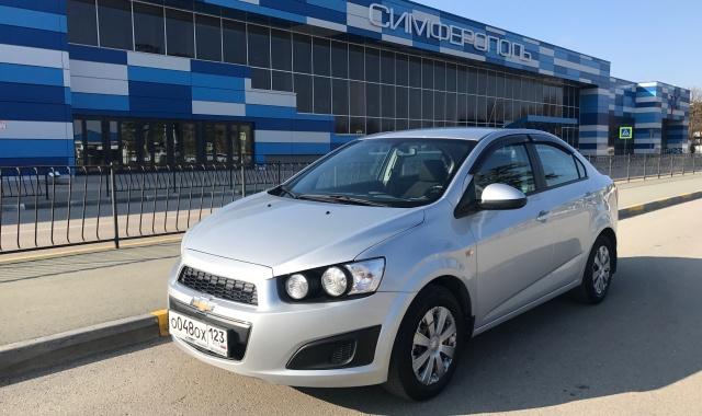 Аренда Chevrolet Aveo в Крыму