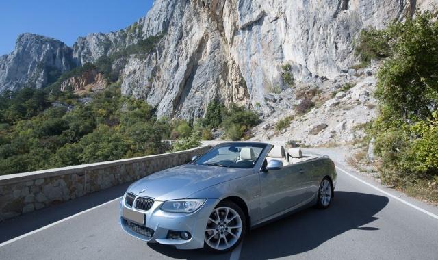 Аренда BMW 3 cabriolet в Крыму