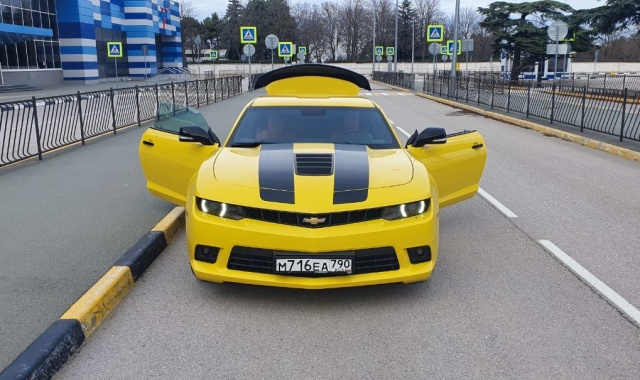 Аренда Chevrolet Camaro Coupe в Крыму