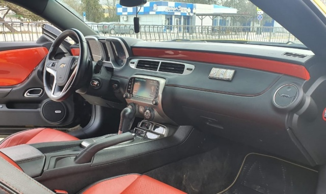 Аренда Chevrolet Camaro Coupe в Крыму