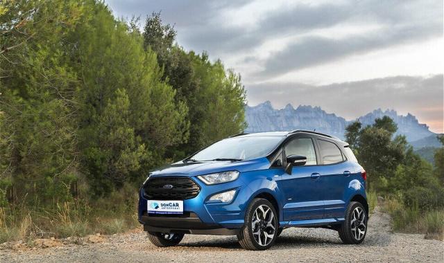 Аренда Ford EcoSport в Крыму