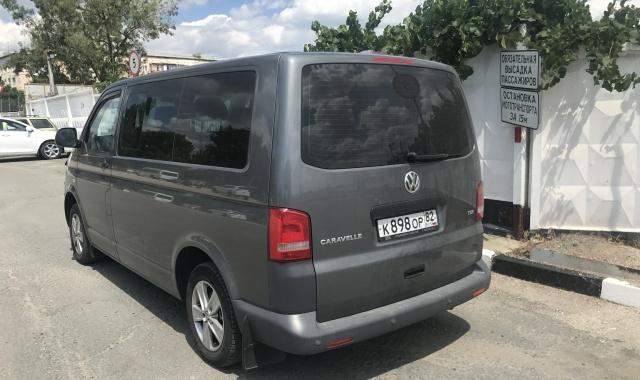 Аренда Volkswagen Caravelle в Крыму