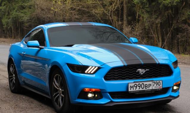 Аренда Ford Mustang в Крыму