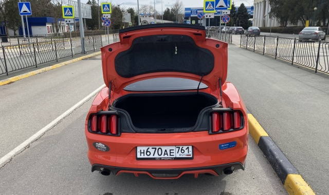 Аренда Ford Mustang Coupe в Крыму