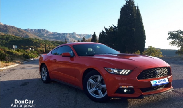 Аренда Ford Mustang Coupe в Крыму