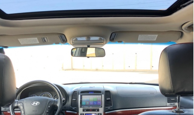Аренда Hyundai Santa Fe акпп кроссовер в Крыму