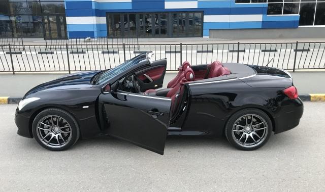 Аренда INFINITI G37 cabriolet в Крыму