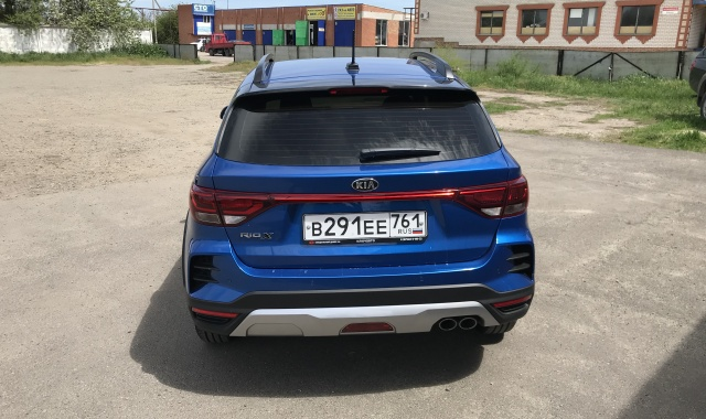 Аренда Kia Rio X new в Крыму