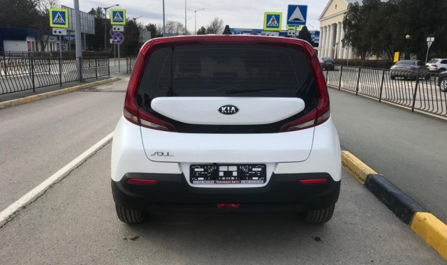 Аренда Kia Soul в Крыму
