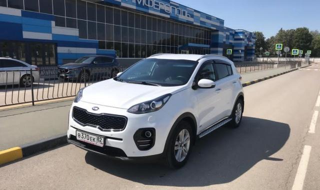 Аренда Kia Sportage New в Крыму