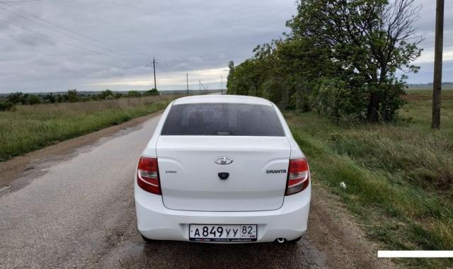 Аренда Lada Granta в Крыму