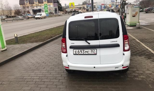 Аренда Lada Largus в Крыму