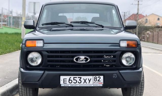 Аренда  Lada Niva 4х4 в Крыму
