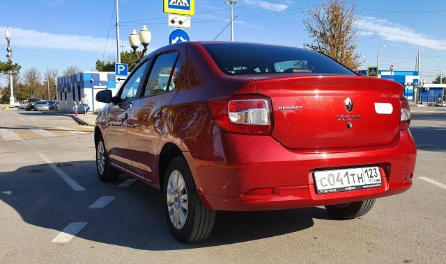 Аренда Renault Logan 2017 в Крыму