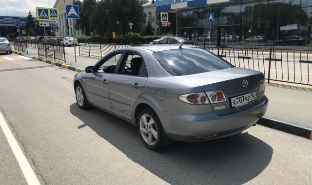 Аренда Mazda 6 в Крыму