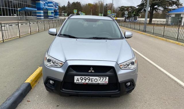 Аренда Mitsubishi ASX кроссовер в Крыму