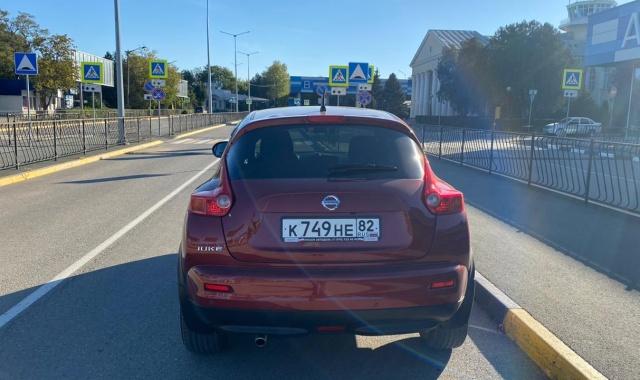 Аренда Nissan Juke кроссовер в Крыму