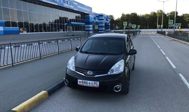 Аренда Nissan Note в Крыму