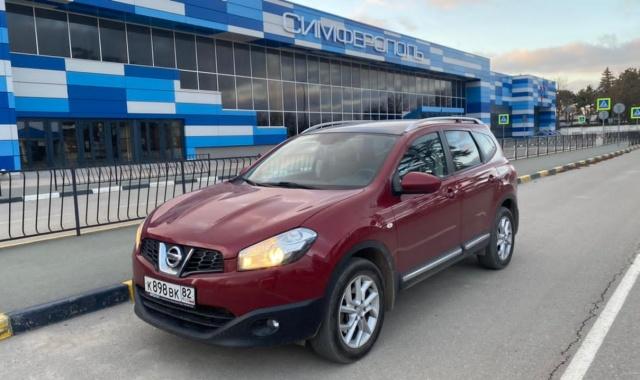 Аренда Nissan Qashqai минивэн в Крыму