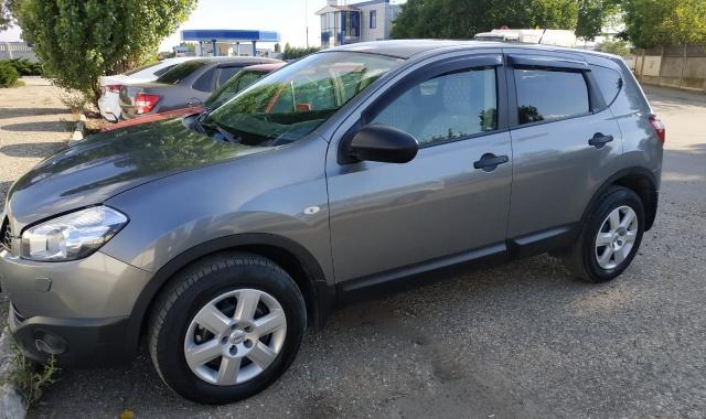Аренда Nissan Qashqai кроссовер в Крыму