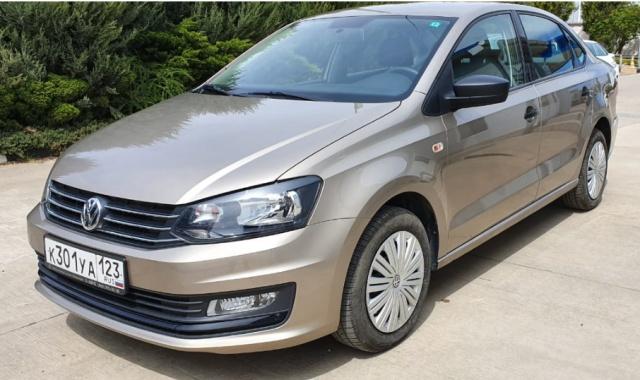 Аренда Volkswagen Polo 2018 в Крыму