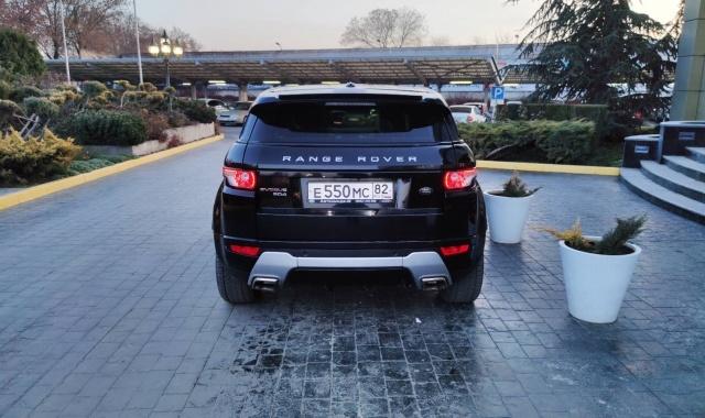 Range Rover Evoque кроссовер в Крыму