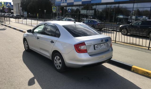 Аренда Skoda Rapid  лифтбек в Крыму