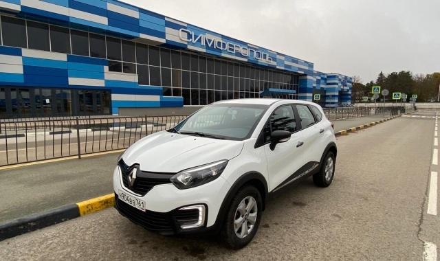 Аренда Renault Kaptur кроссовер в Крыму