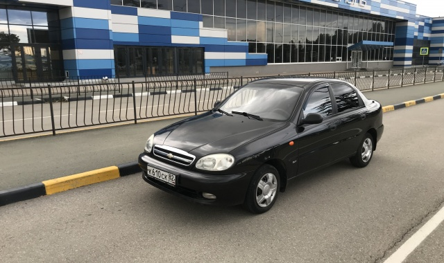 Аренда Chevrolet Lanos в Крыму