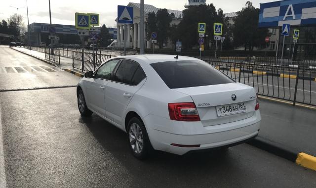 Аренда Skoda Octavia в Крыму