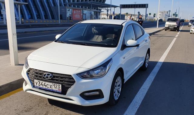 Аренда Hyundai Solaris 2017 в Крыму