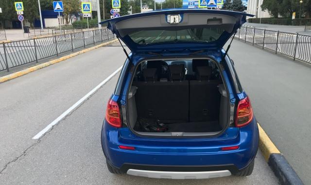 Аренда Suzuki SX4 в Крыму