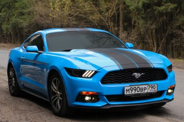 Прокат Ford Mustang 2017 New Turbo