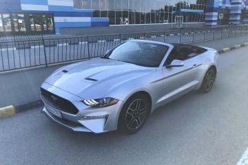 Прокат Ford Mustang New Кабриолет открыто бронирование с 1 июля