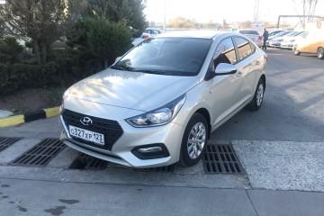 Прокат Hyundai Solaris 2018 осаго