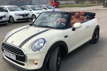 Прокат MINI Cooper кабриолет