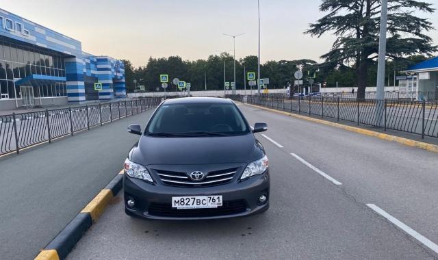 Аренда Toyota Corolla в Крыму
