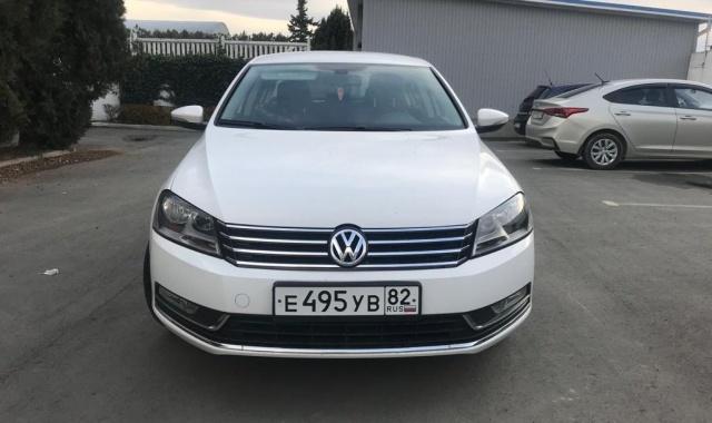 Аренда Volkswagen Passat кроссовер в Крыму